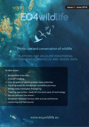 EO4wildlife Newsletter Issue-1 June-2016